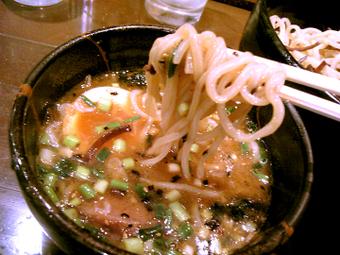 中太ストレート麺(角切り)