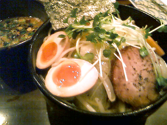 春野菜醤油つけ麺