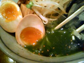 緑色のスープ