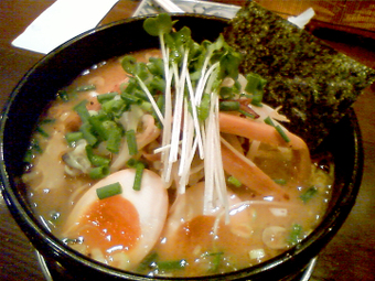 野菜らあめん(醤油)