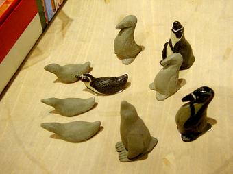 ペンギン置物