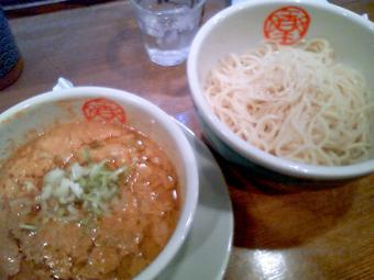 胡麻つけ麺