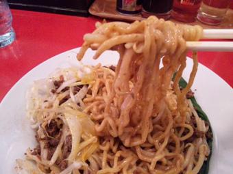 四川マーラー汁なし紅龍麺
