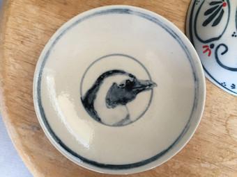 ケープペンギン小皿