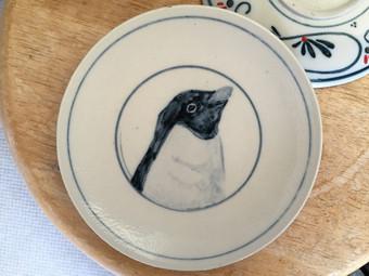 アデリーペンギン小皿