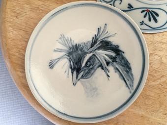 イワトビペンギン小皿