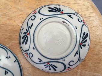 皿の裏側2