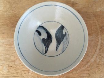 コウテイペンギン茶碗