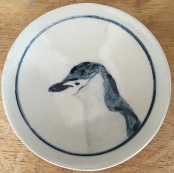 ヒゲペンギン小皿
