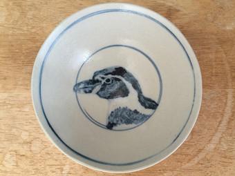 フンボルトペンギン茶碗