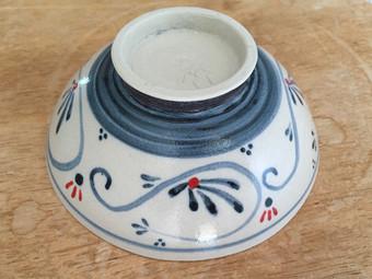 茶碗の裏側