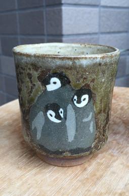 コウテイペンギン雛湯呑み