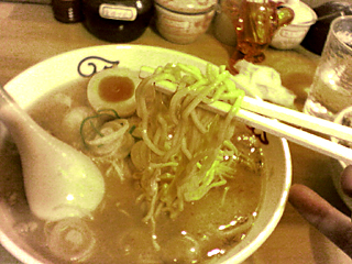 中太ストレート麺<br />
