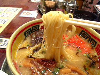 細ストレート麺