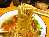 鶏白湯唐辛子麺