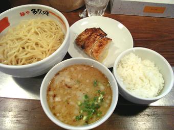 塩つけ麺とランチセット