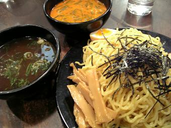 Wスープつけ麺