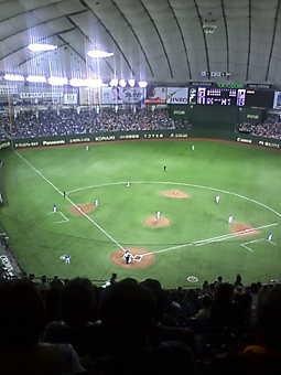 ナイター巨人横浜戦