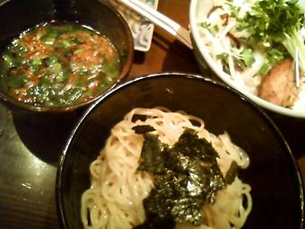 春野菜つけ麺(塩)