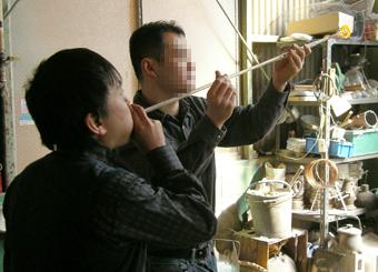 江戸風鈴製作体験