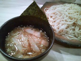 醤油つけ麺(大盛り)
