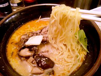 きのこ坦々麺
