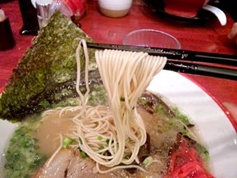 極細ストレート麺