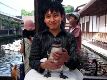 ペンギンを保護しました!