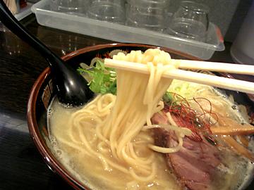 太ストレート麺