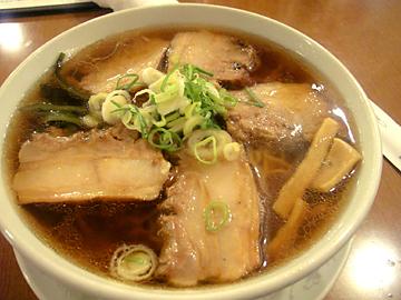 もち豚チャーシュー麺
