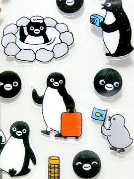 Suicaペンギンのシール